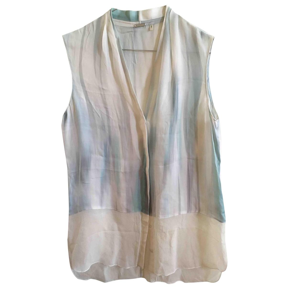 Elie Tahari \N Blue Silk  top for Women S International