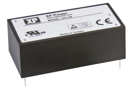 XP Power , 25W AC-DC Converter, 5V dc, Encapsulated