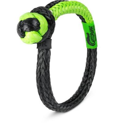 Bubba Rope Gator-Jaw Nexgen Pro Synthetic Shackle (Green and Black) - 176746NGGB
