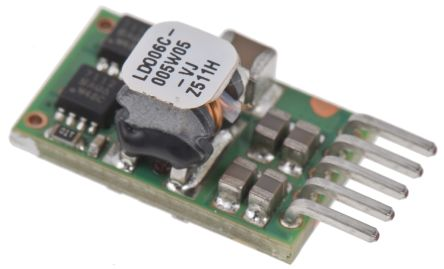 Artesyn Embedded Technologies Non-Isolated DC-DC Converter, 0.59 ? 5.1V dc Output, 6A