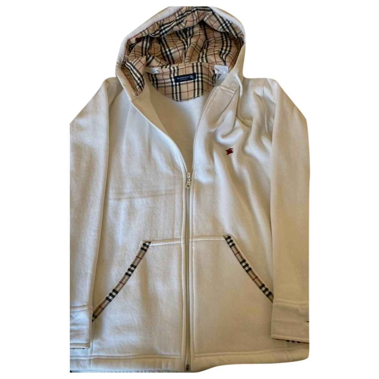 Burberry - Pull   pour femme - blanc