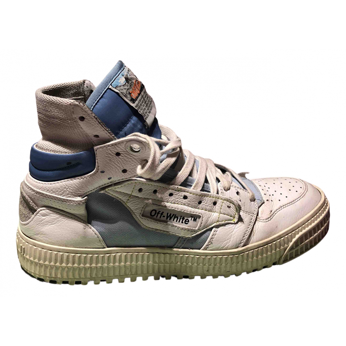 Off-white \N White Leather Trainers for Women 37 EU