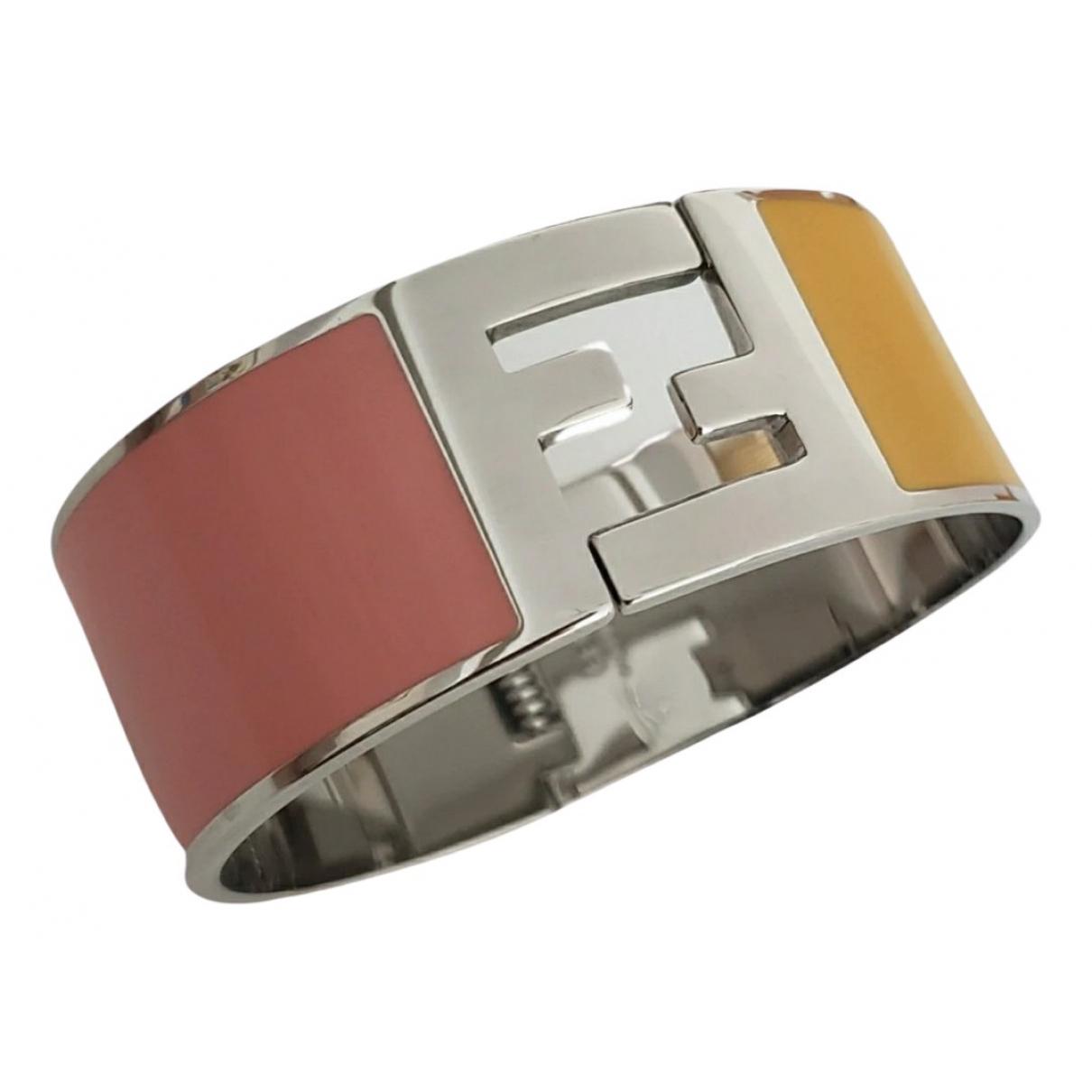 Fendi The Fendista Armband in  Bunt Metall