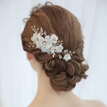 Flower Decor Hairpin