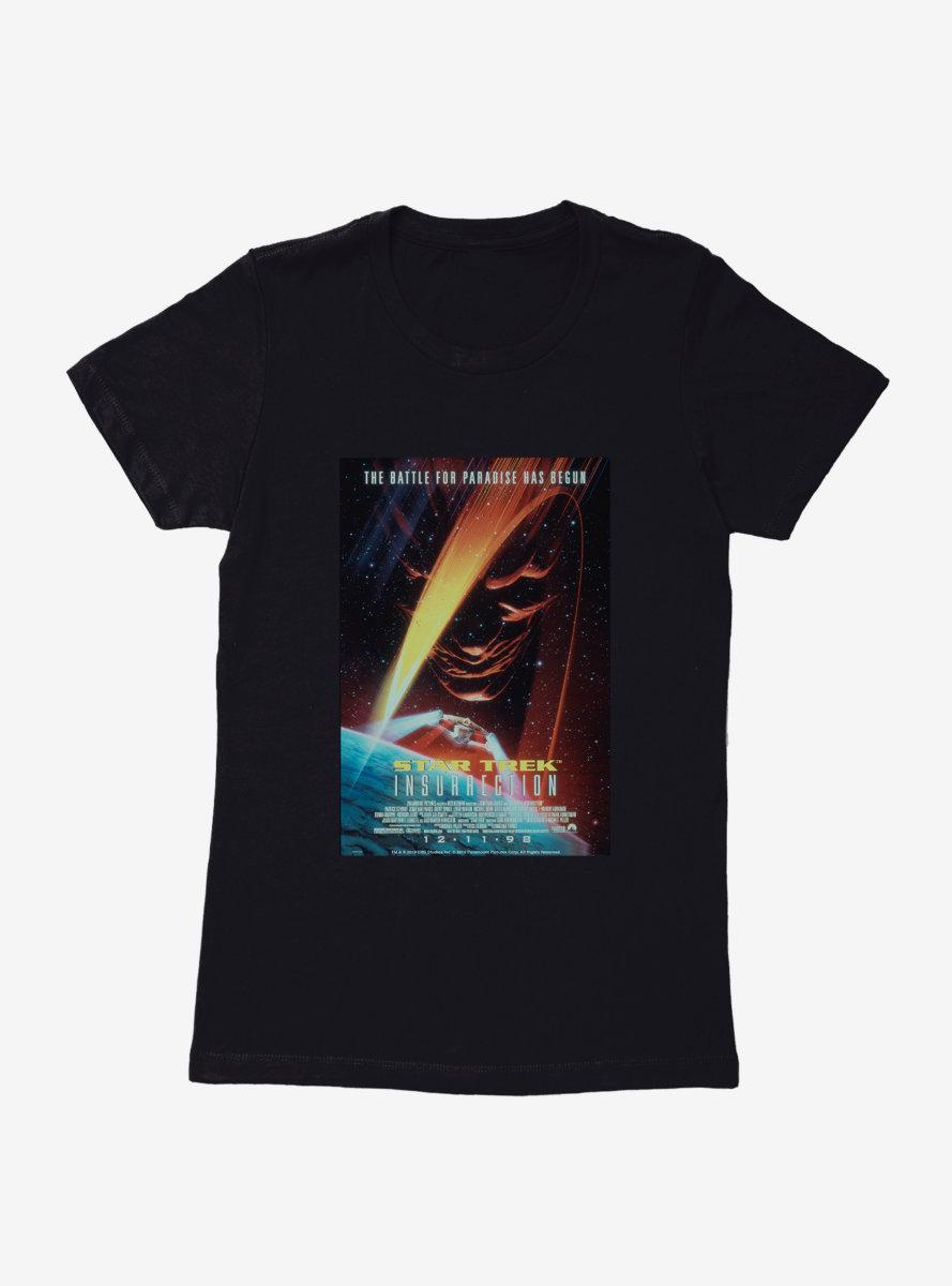 Star Trek Insurrection Poster Womens T-Shirt