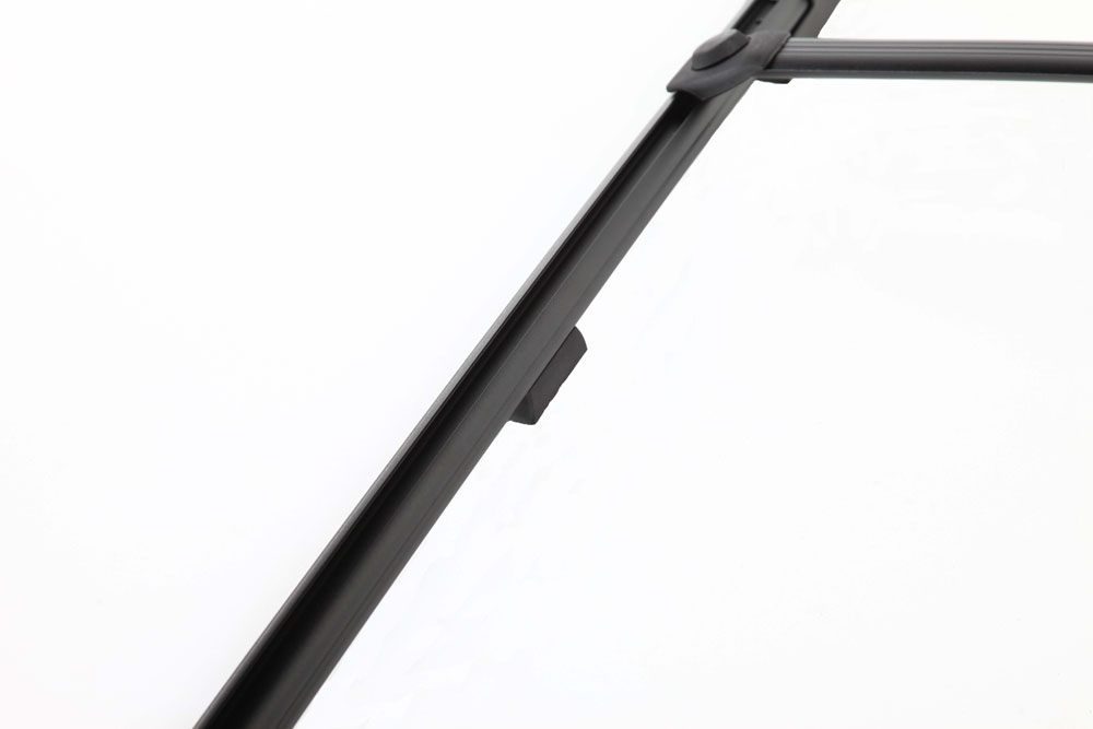 Roof Rack Complete Ready To Install 75 Lb Capacity Kit Black W/Fiberglass Hardware 43 Inch W x 75 Inch Long DynaSport Perrycraft DS4375-B-FH