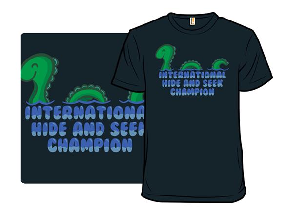 International Hide And Seek Champ T Shirt