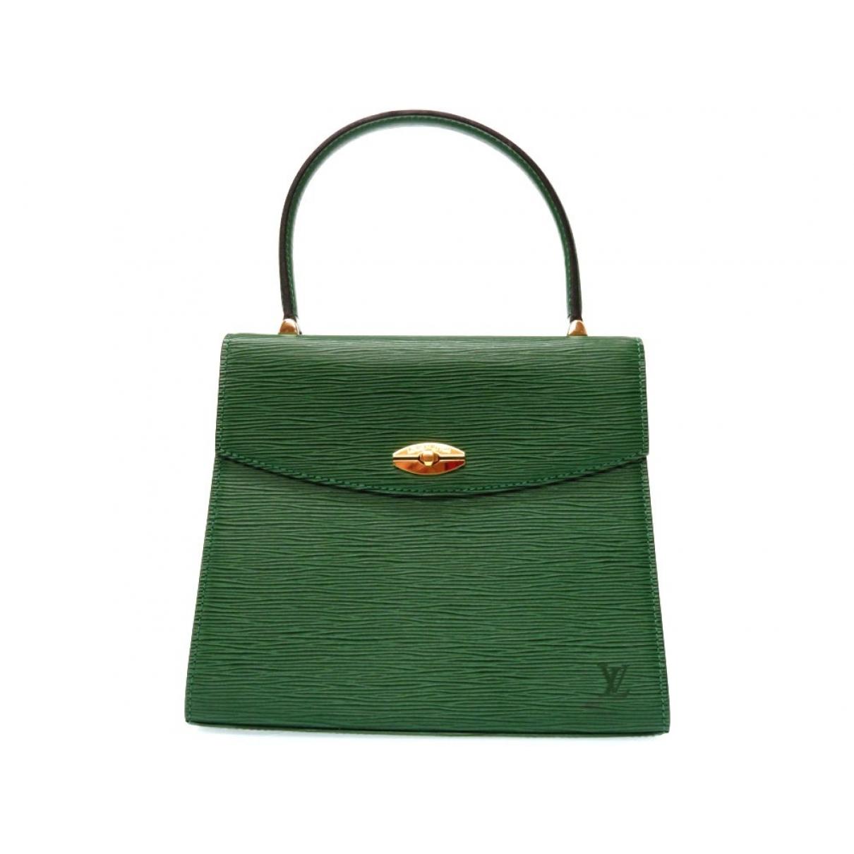 Bolso  Malesherbes de Cuero Louis Vuitton