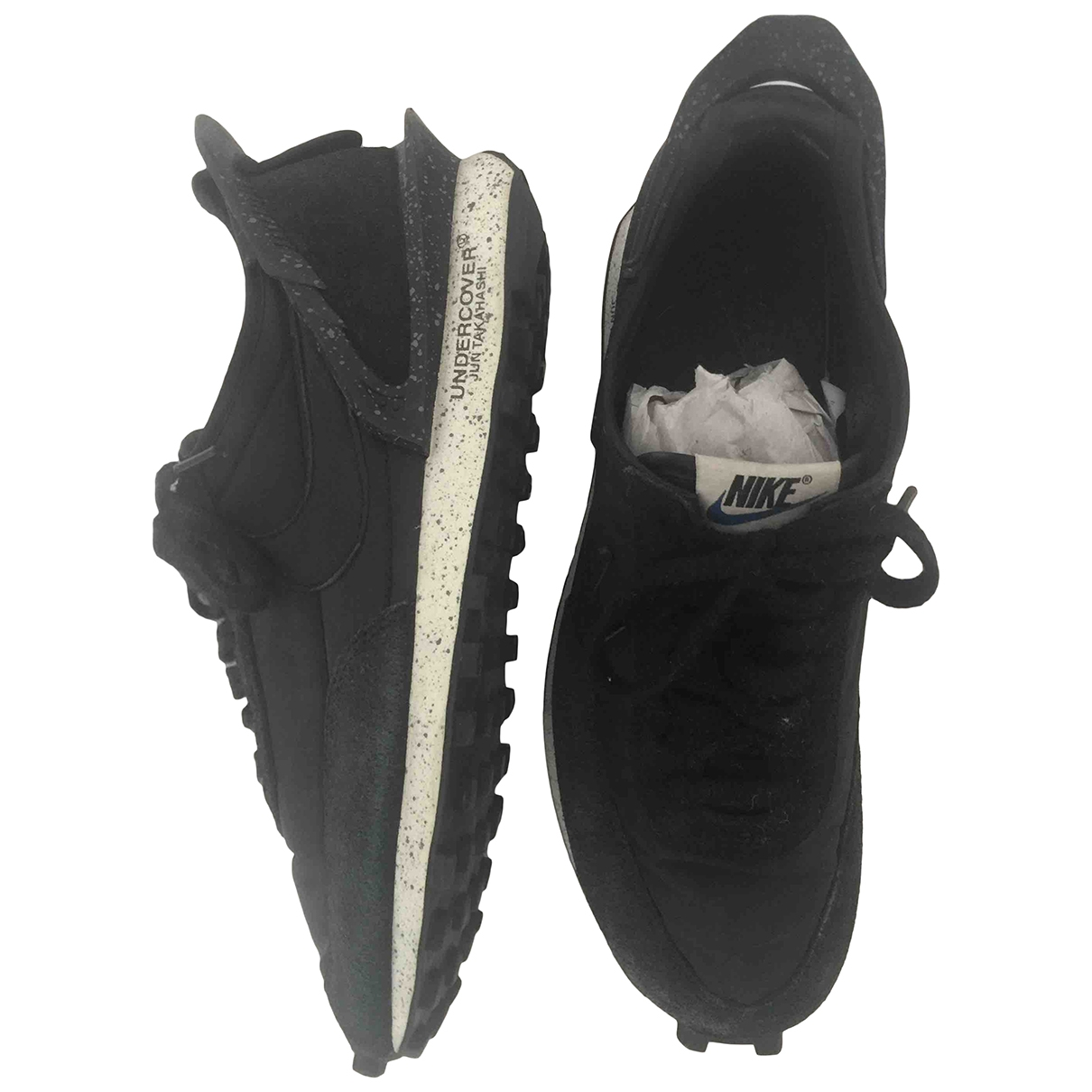 Nike X Undercover Daybreak Black Leather Trainers for Men 42 EU