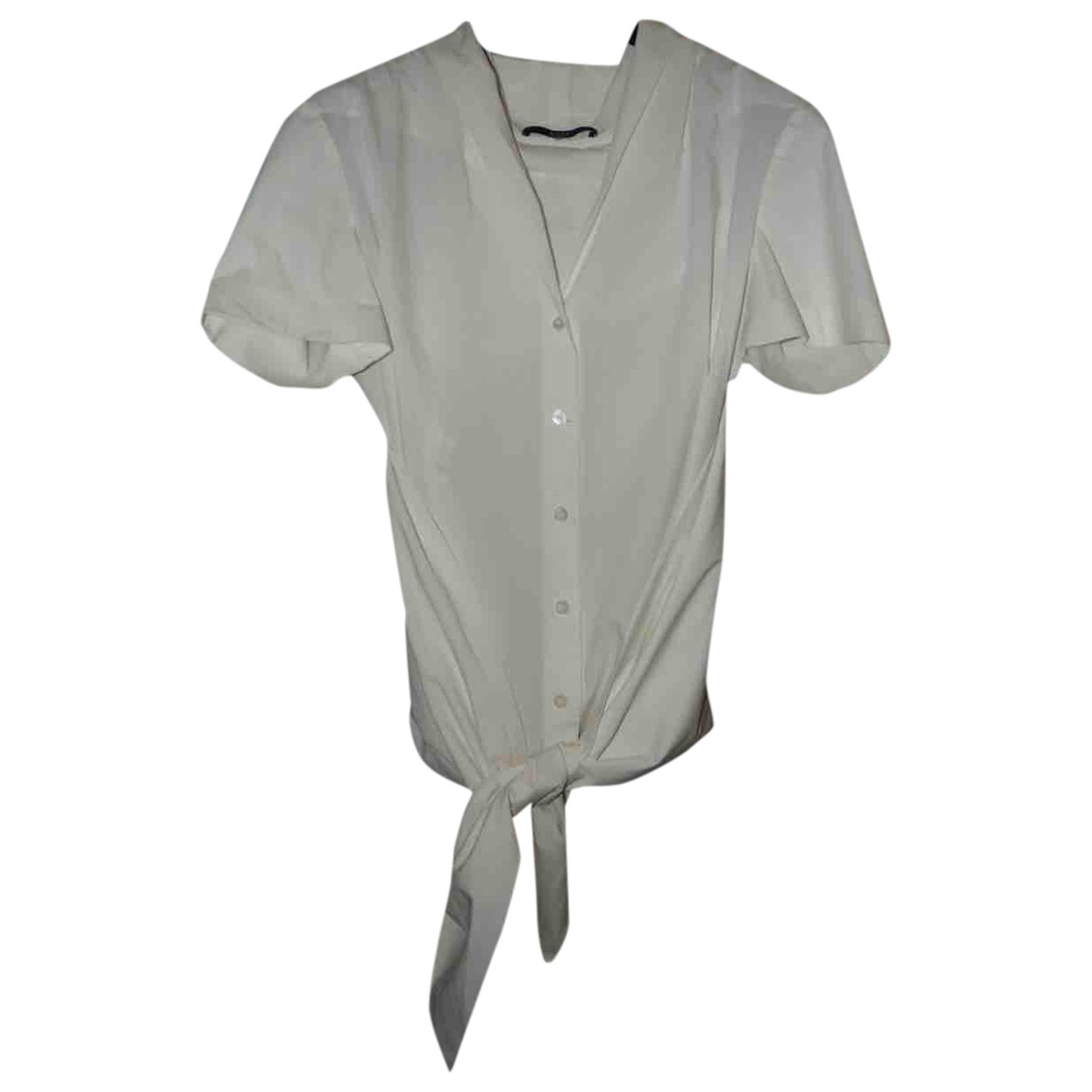 Gucci \N White Cotton  top for Women 44 IT