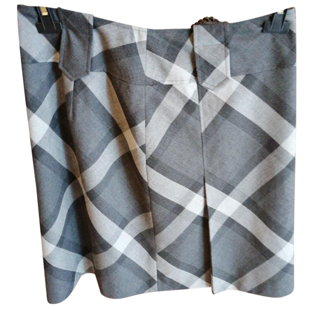 Gerry Weber - Jupe   pour femme en coton - gris