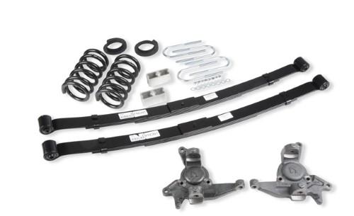 Belltech 628 4-5inch Front 5inch Rear Lowering Kit w/o Shocks Chevrolet Blazer | GMC Jimmy 6cyl 1998-2003