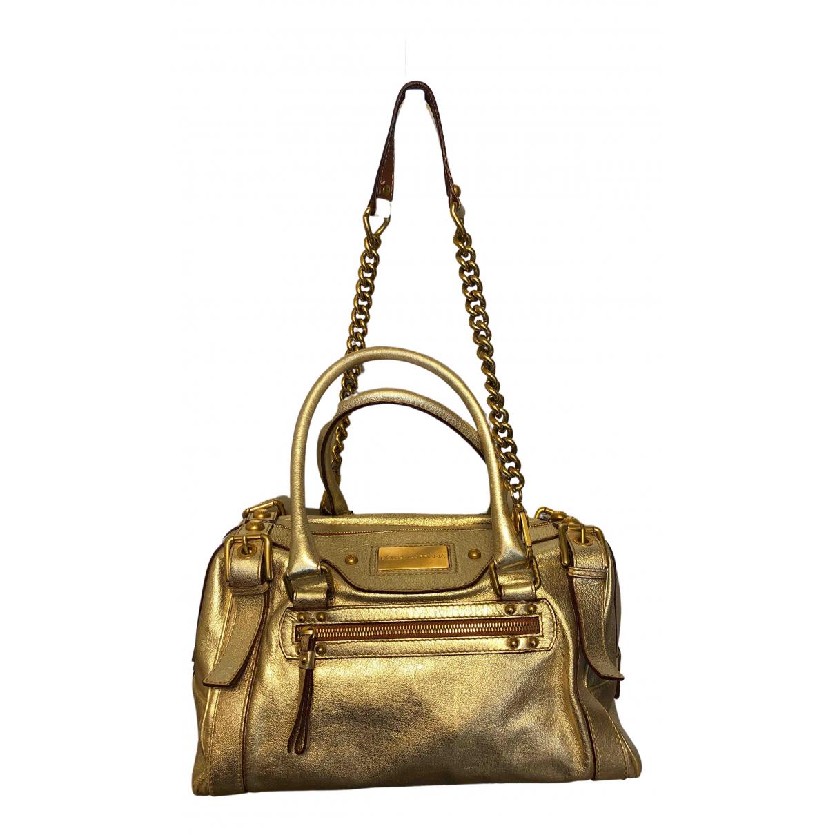 Dolce & Gabbana N Metallic Leather handbag for Women N