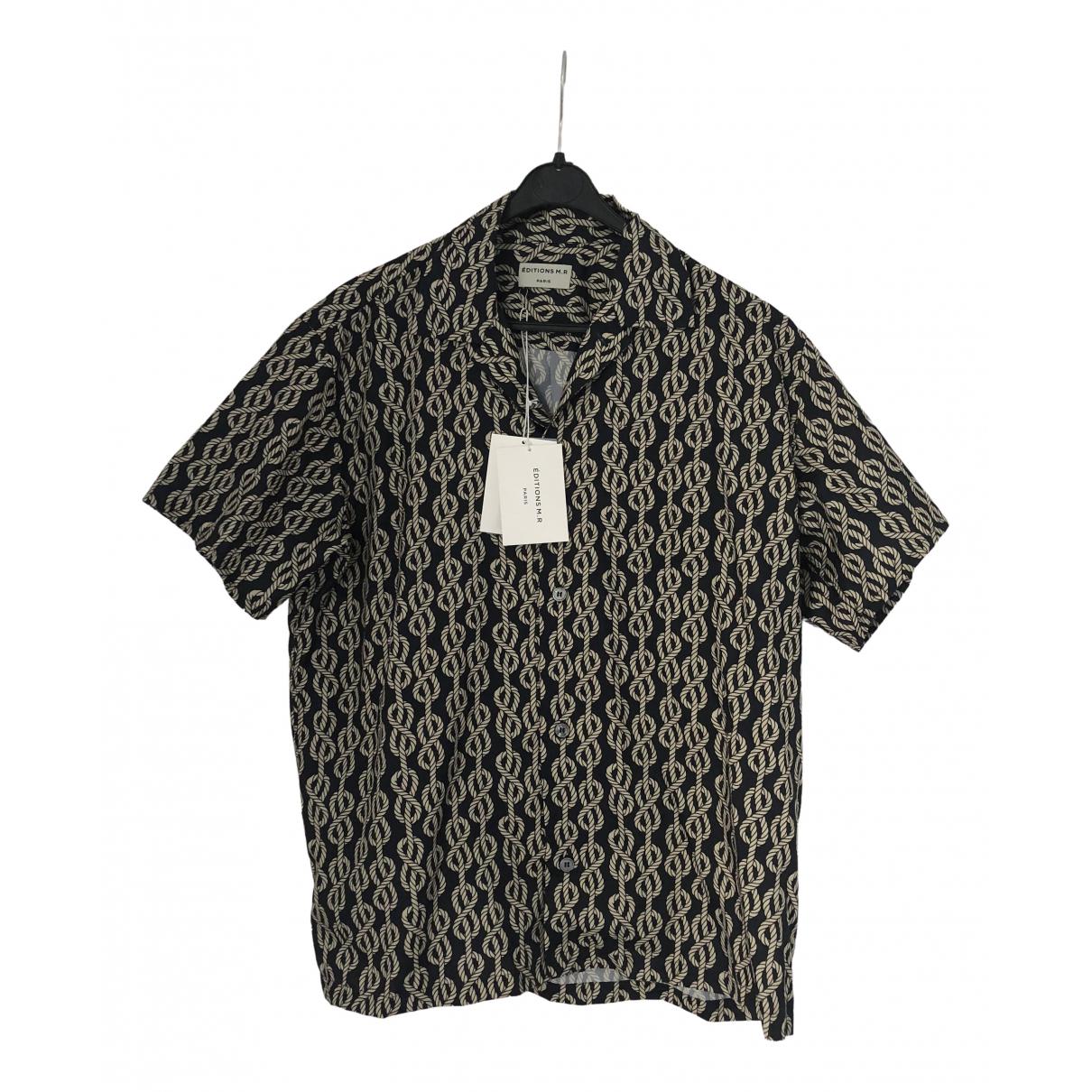 Editions M.r \N Grey Shirts for Men 38 EU (tour de cou / collar)