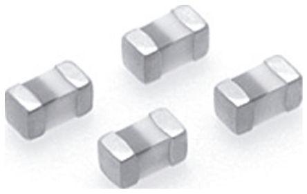 TDK 15 nH ±5% Multilayer SMD Inductor, 0402 (1005M) Case, SRF: 2.8GHz Q: 8 400mA dc 550mΩ Rdc (10)