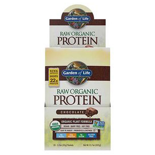 RAW Organic Protein Chocolate 1 Tray by Garden of Life