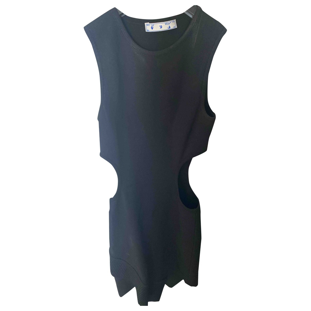Off-white \N Black Silk dress for Women 38 FR