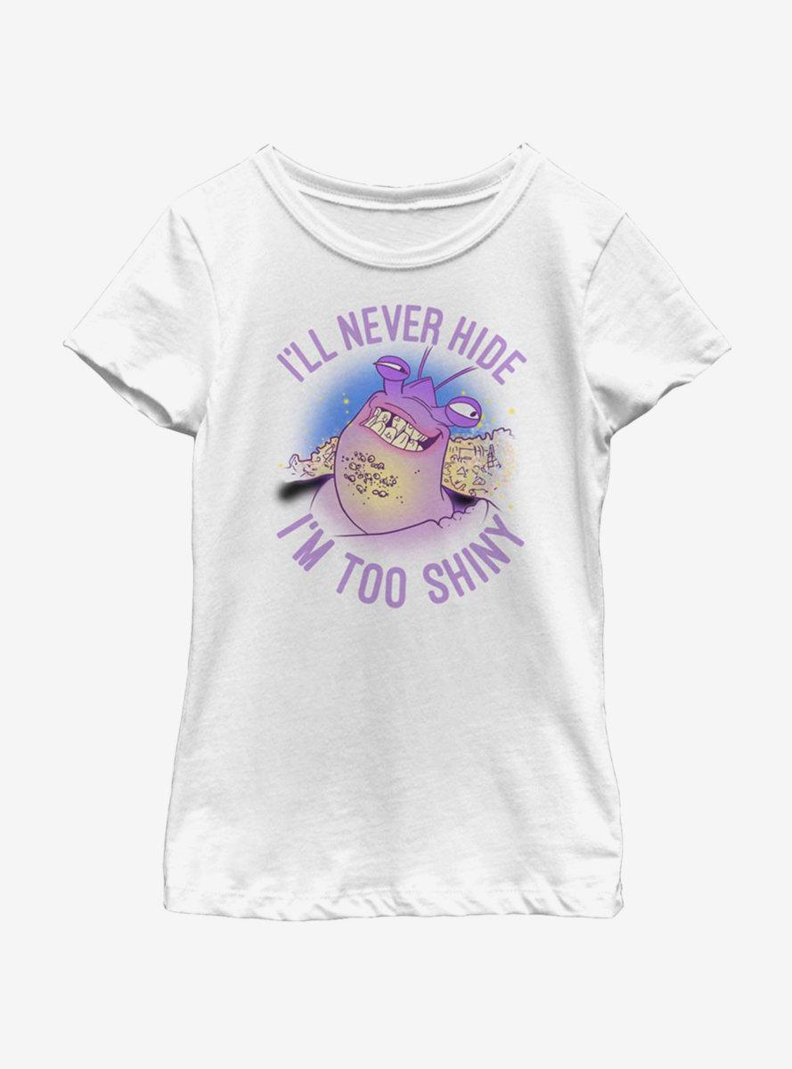 Disney Moana I'm Too Shiny Youth Girls T-Shirt