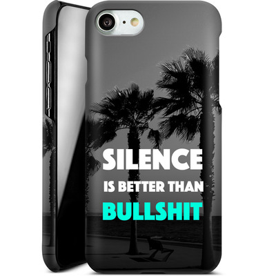 Apple iPhone 7 Smartphone Huelle - Silence Is Better von Statements