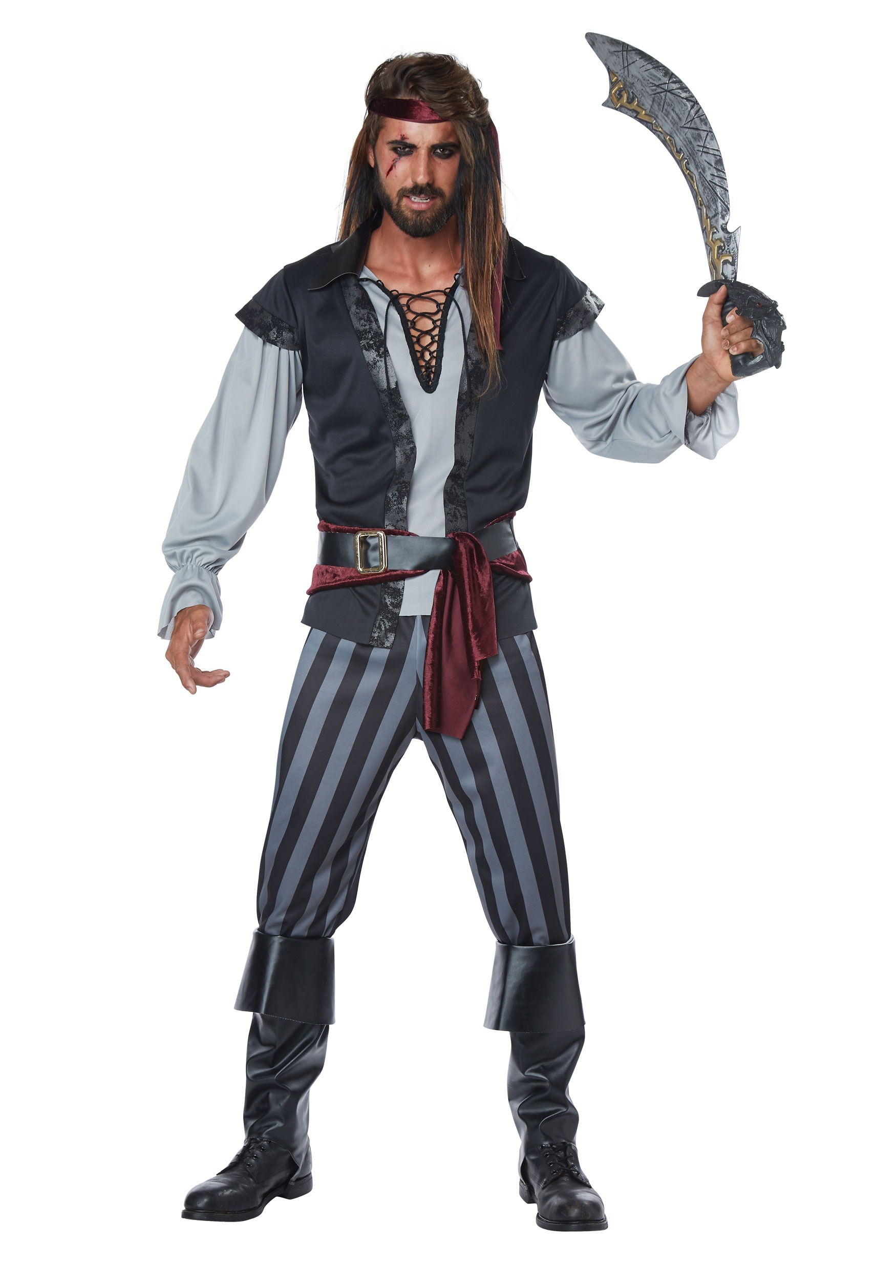 Scallywag Pirate Costume for Men