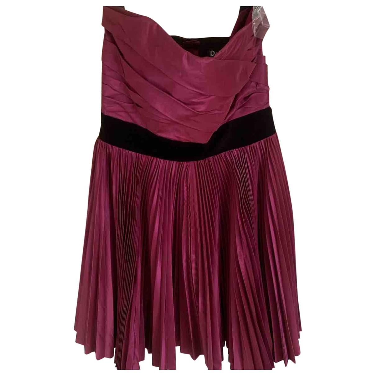 D&g \N Kleid in  Lila Seide
