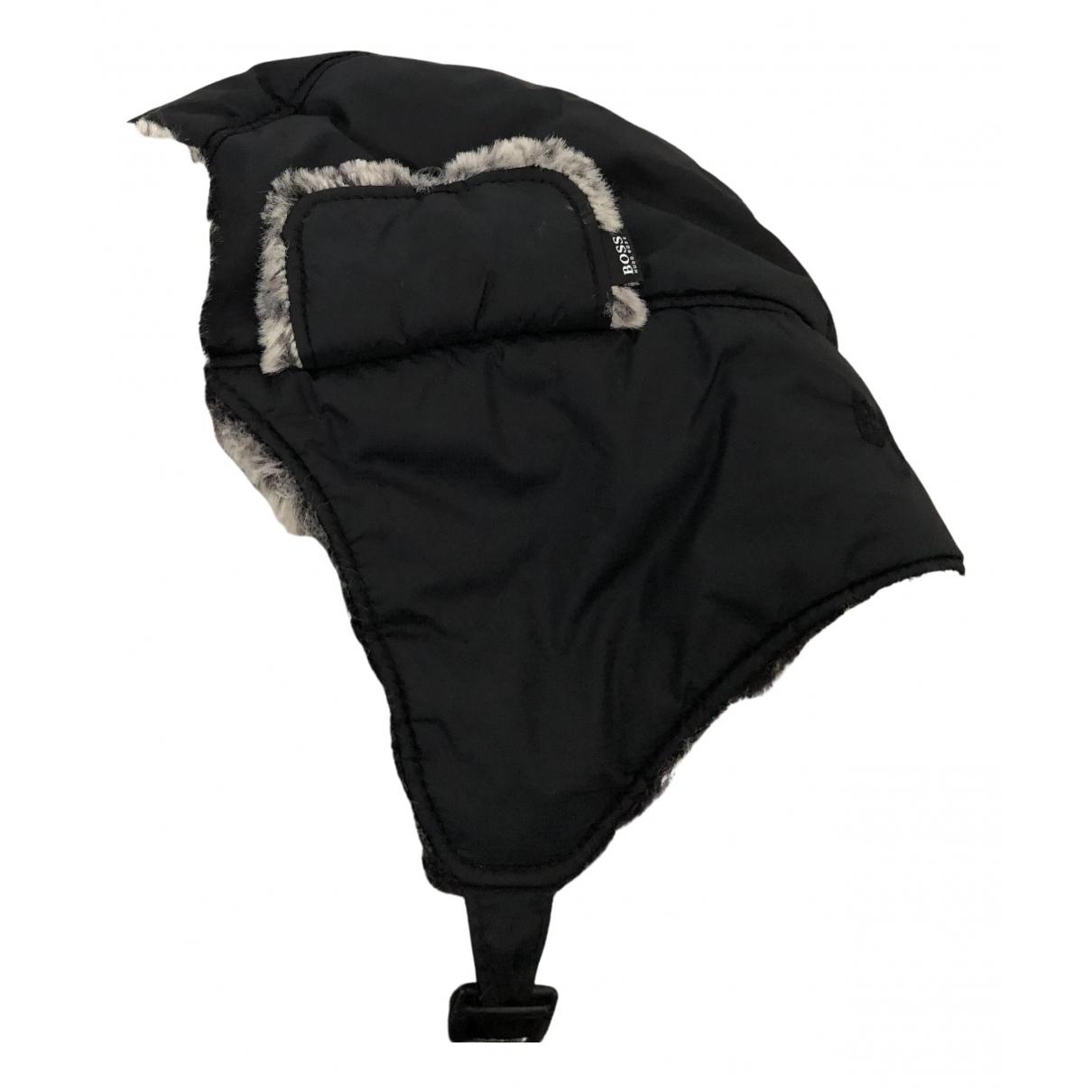 Boss \N Hut, Muetzen, Handschuhe in  Schwarz Polyester