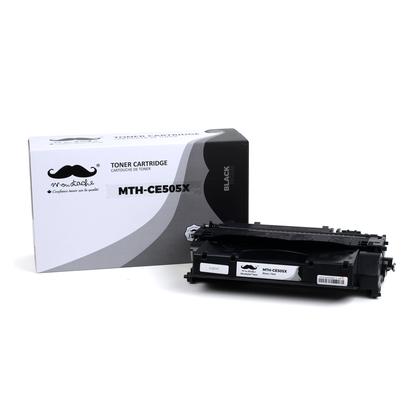 Compatible HP Laserjet P2055DN Black Toner Cartridge High Yield - Moustache