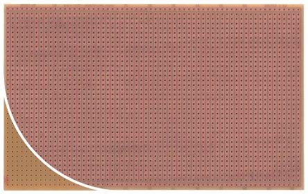 Roth Elektronik RE512-HP, Single Sided Eurocard PCB FR2 With 36 x 62 1mm Holes, 2.54 x 2.54mm Pitch, 160.01 x 100mm