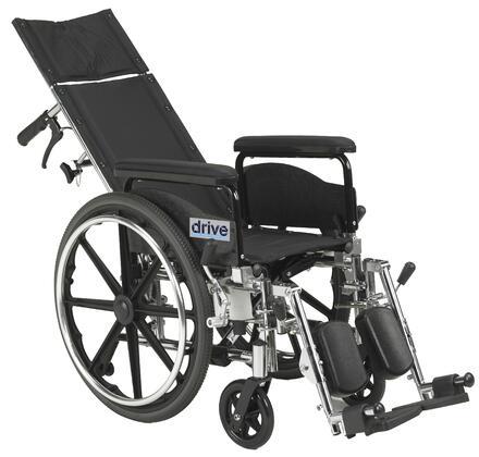 pla420rbdfa Viper Plus Gt Full Reclining Wheelchair  Detachable Full Arms  20
