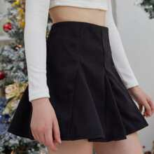 Mini Flared Skirt