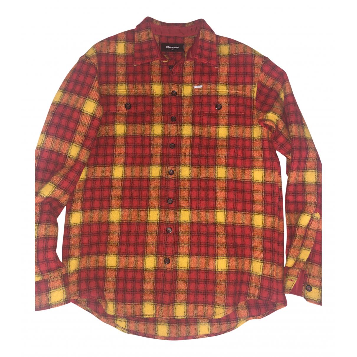 Camisas de Lana Dsquared2