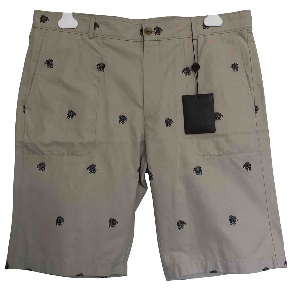 Louis Vuitton \N Shorts in  Beige Baumwolle