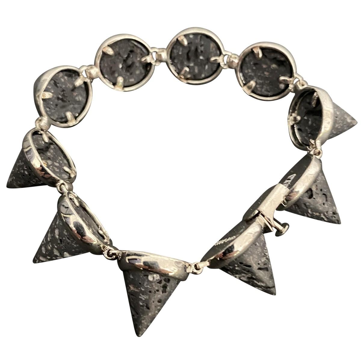 Eddie Borgo N Grey Metal bracelet for Women N