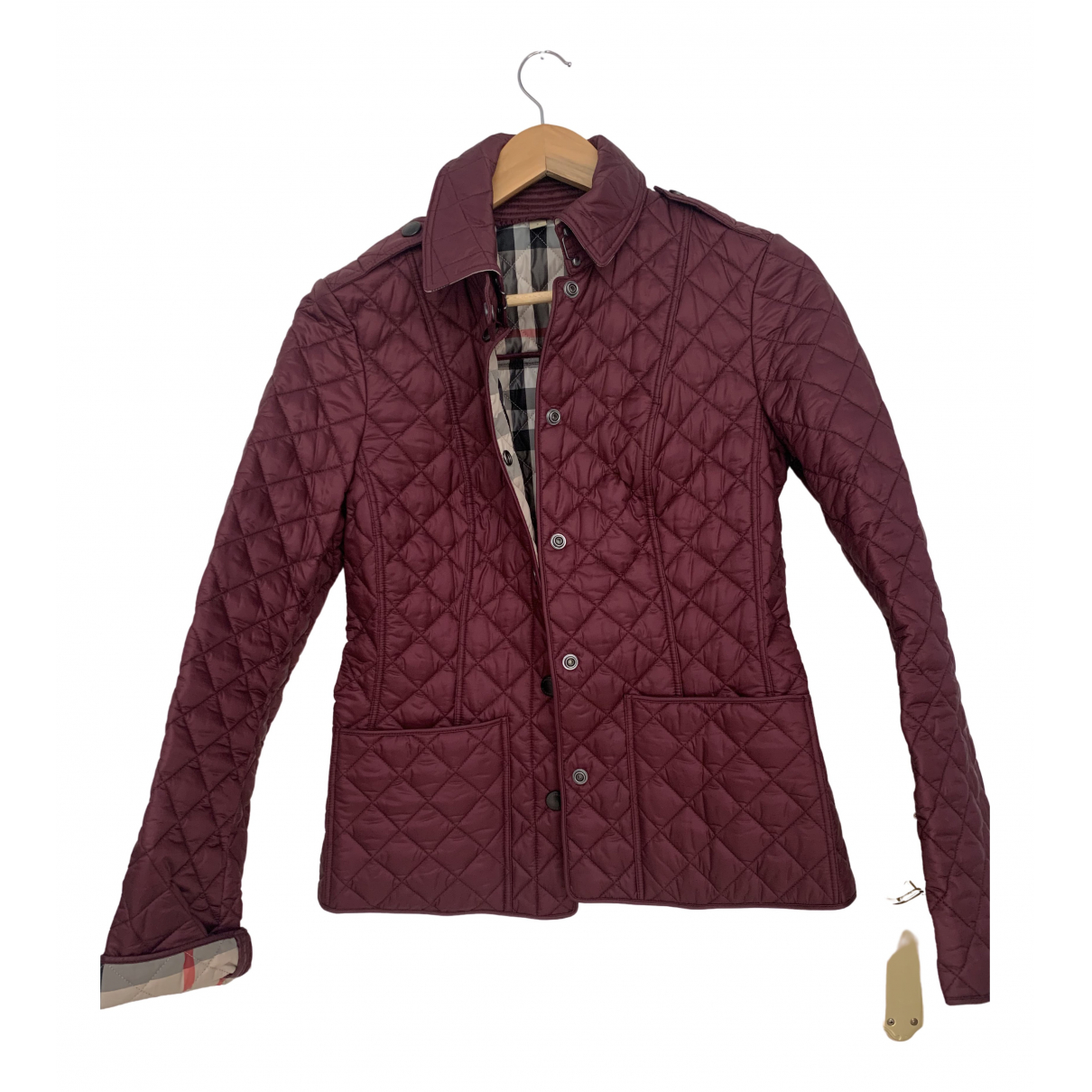 Burberry N Burgundy jacket for Women S International