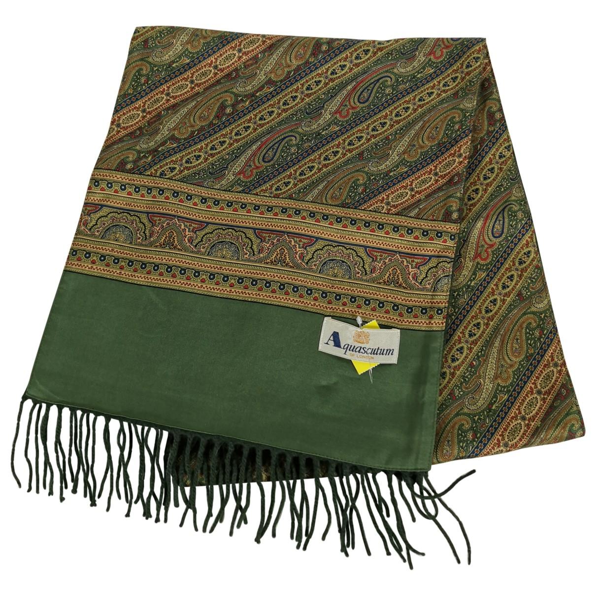 Aquascutum \N Silk scarf & pocket squares for Men \N