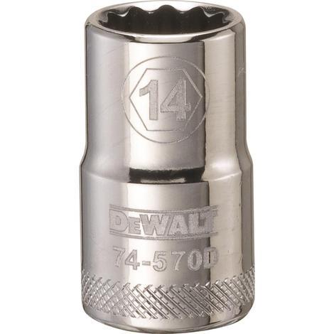 DeWalt 12 Point 1/2# Drive Socket 14 MM