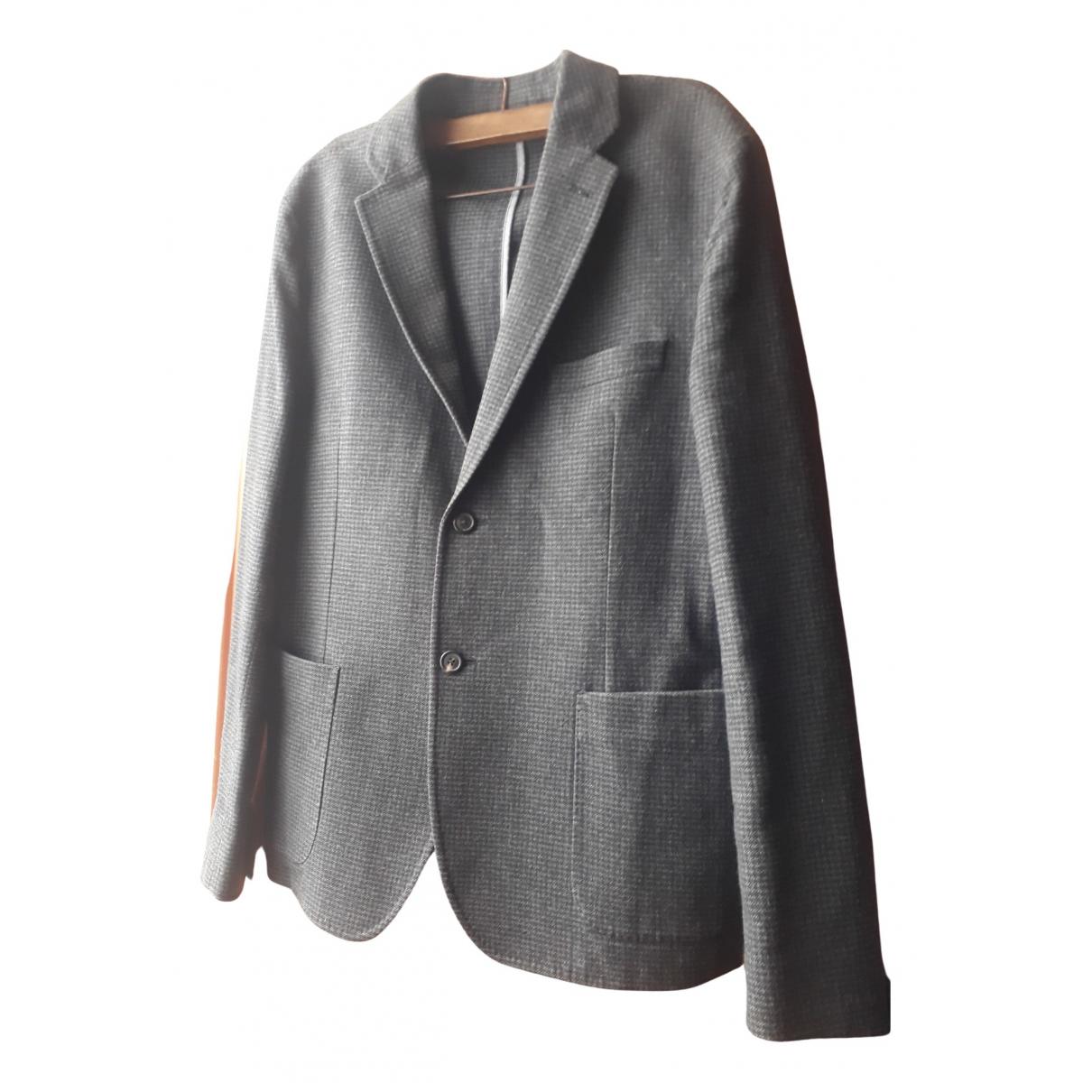 Jigsaw \N Grey Wool Suits for Men 40 UK - US
