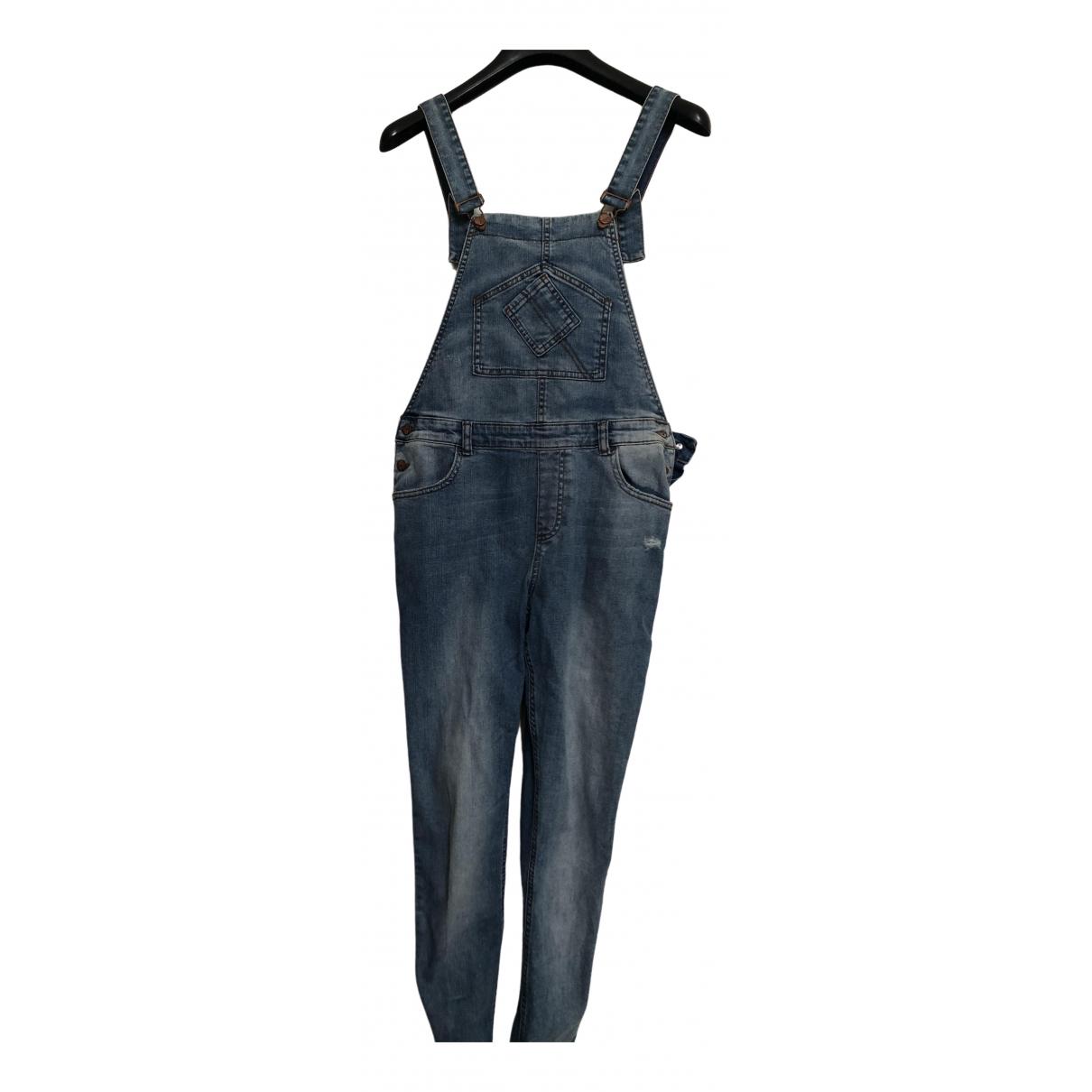 Zara \N Cotton jumpsuit for Women XS International
