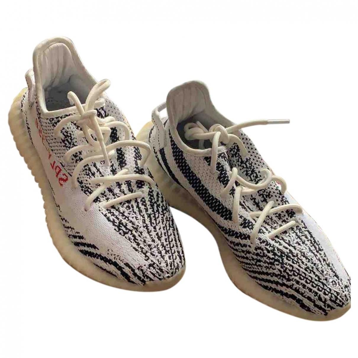 Yeezy X Adidas \N Black Cloth Trainers for Men 42 EU