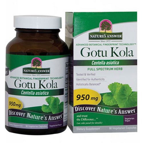 Gotu-Kola Herb 90 Caps by Nature's Answer