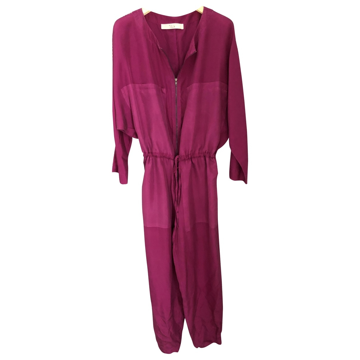 Non Signé / Unsigned \N Silk jumpsuit for Women S International