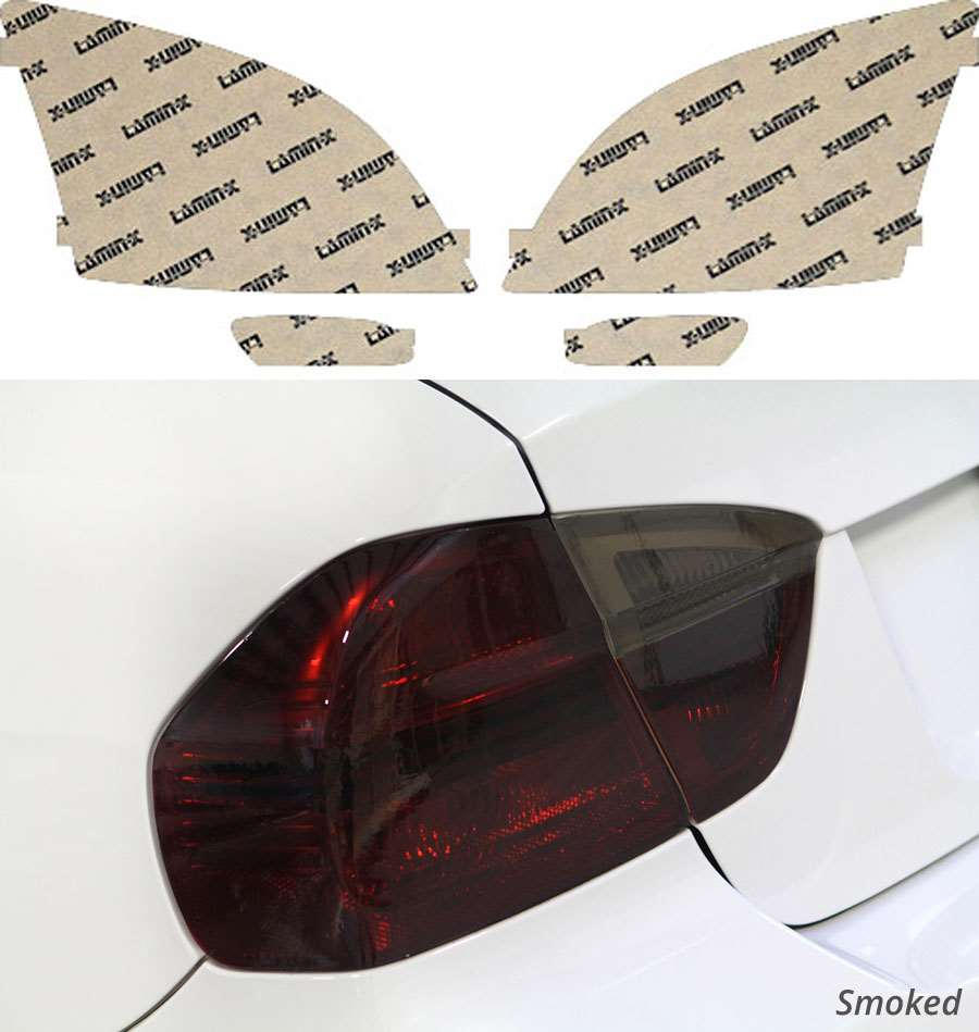 Chrysler Crossfire 04-08 Smoked Tail Light Covers Lamin-X C209S