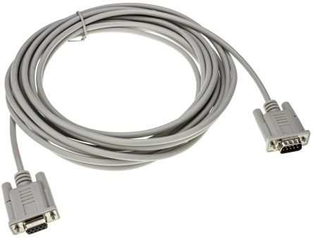 Roline RS-232 6m, Male DB9 to Female DB9, Serial Cable Assembly
