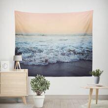 Sea Print Tapestry