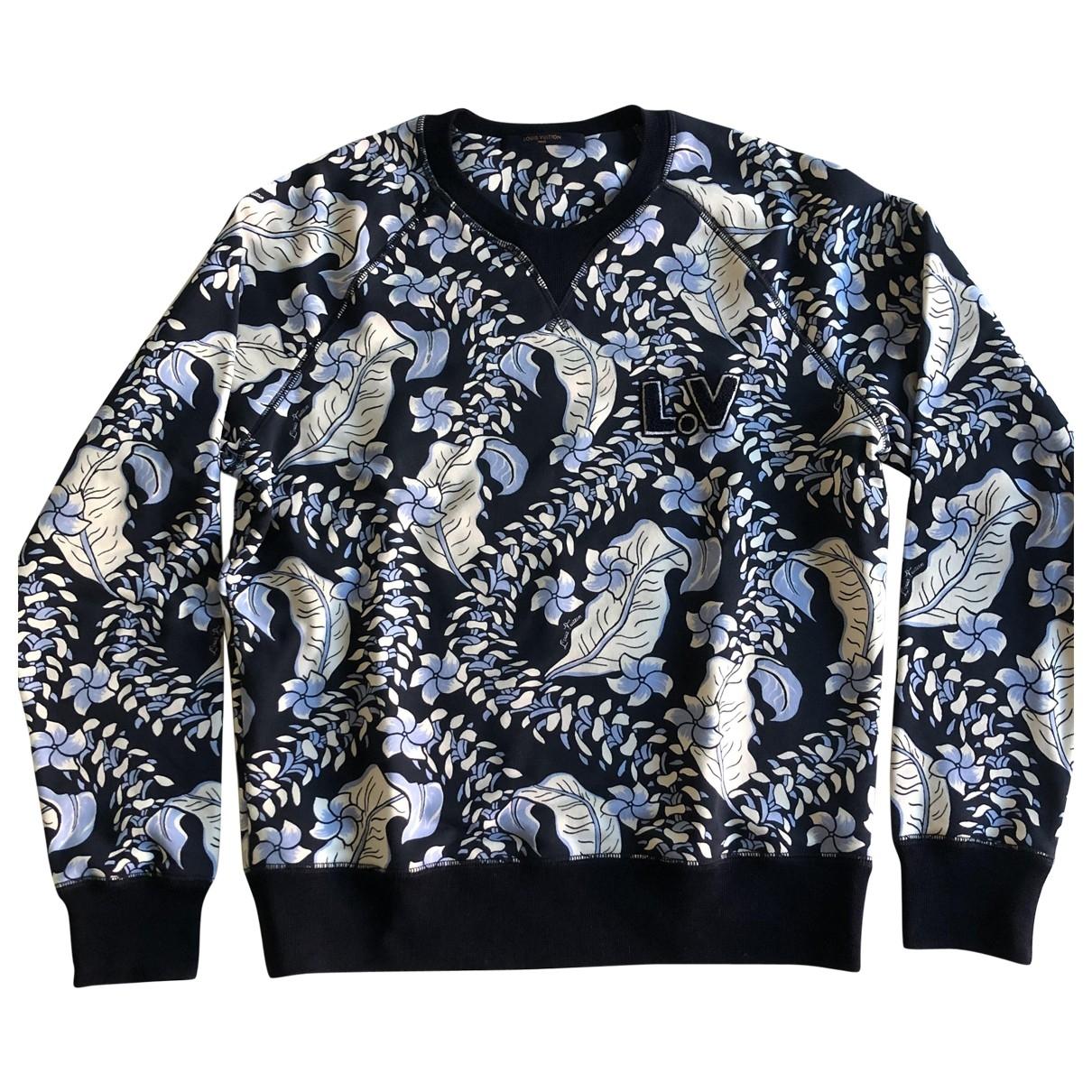 Louis Vuitton - Pulls.Gilets.Sweats   pour homme en coton - multicolore