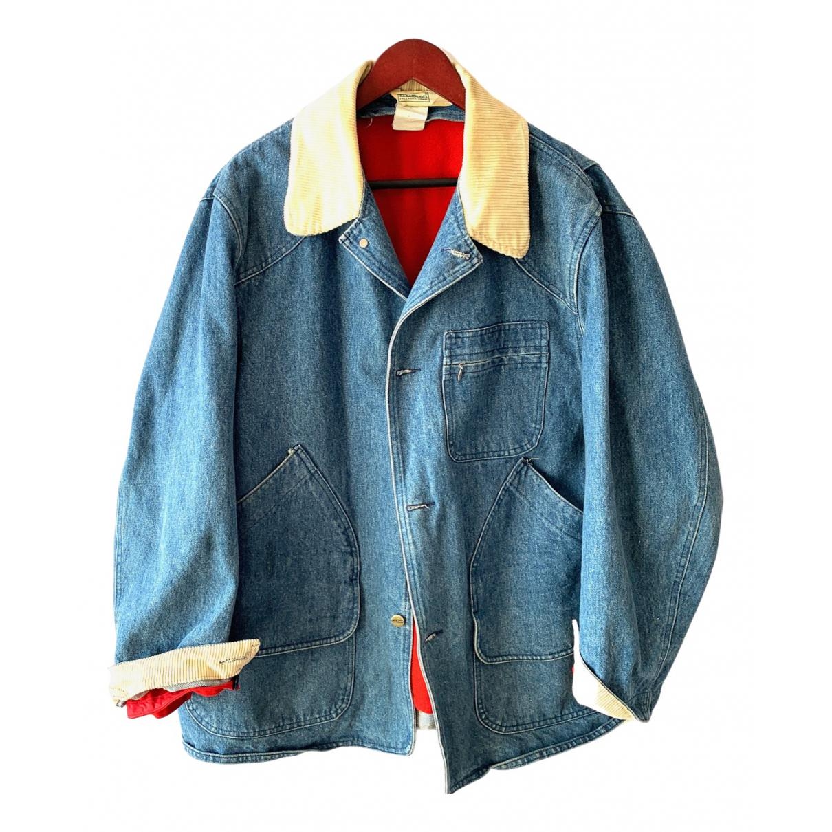 L.l.bean - Manteau   pour homme en coton - bleu