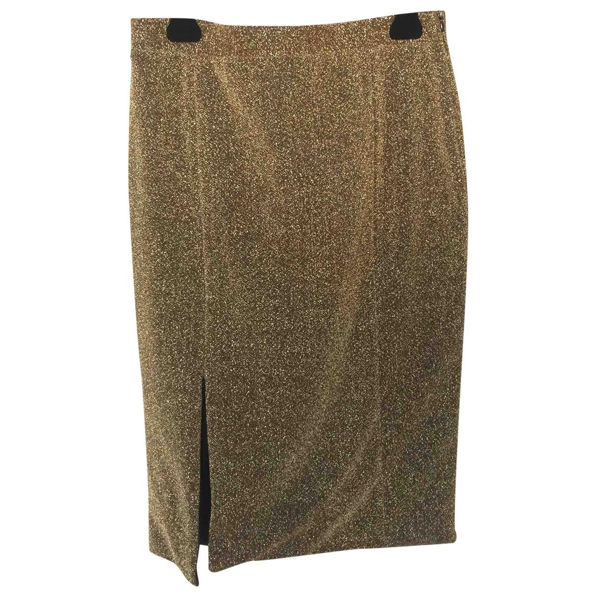 Bimba Y Lola \N Rocke in  Gold Polyester