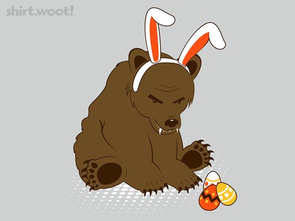Easter Bear T Shirt