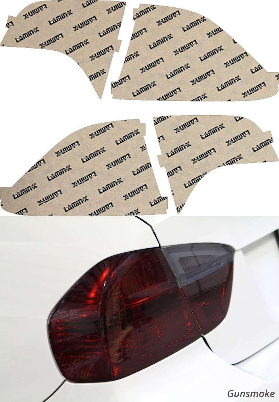 Honda Civic Sedan 06-11 Gunsmoke Tail Light Covers Lamin-X H217G