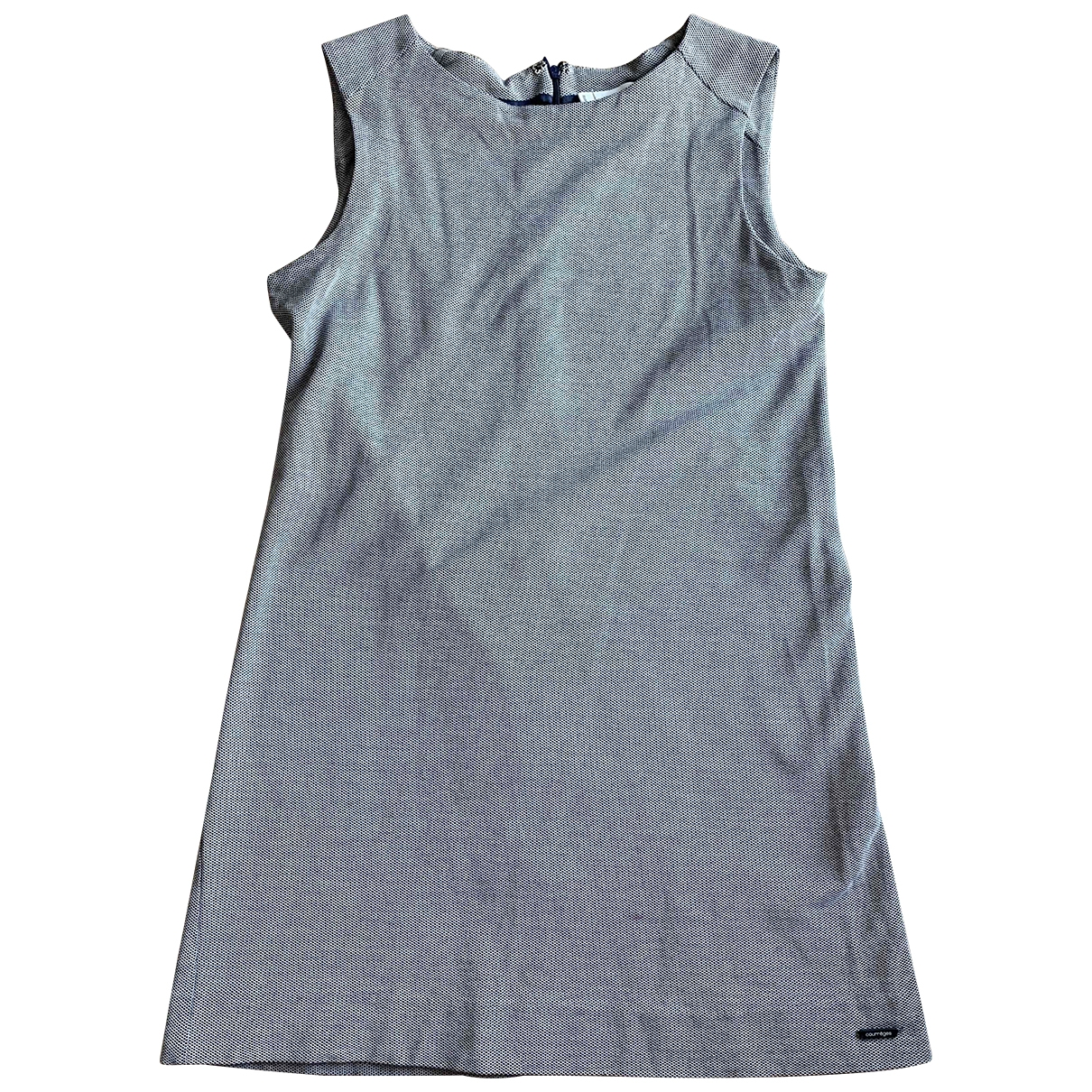 Courreges - Robe   pour femme en coton - bleu